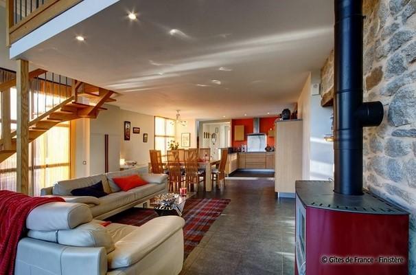Un intérieur spacieux et chaleureux